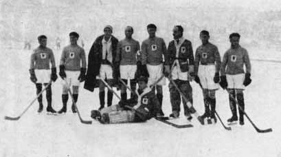 Олимпийский хоккей история