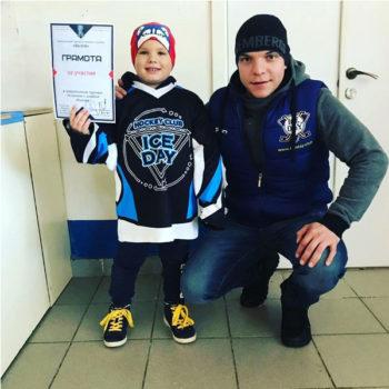 Детские хоккейные тренировки