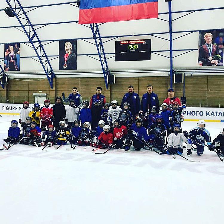 Лагерь для хоккеистов