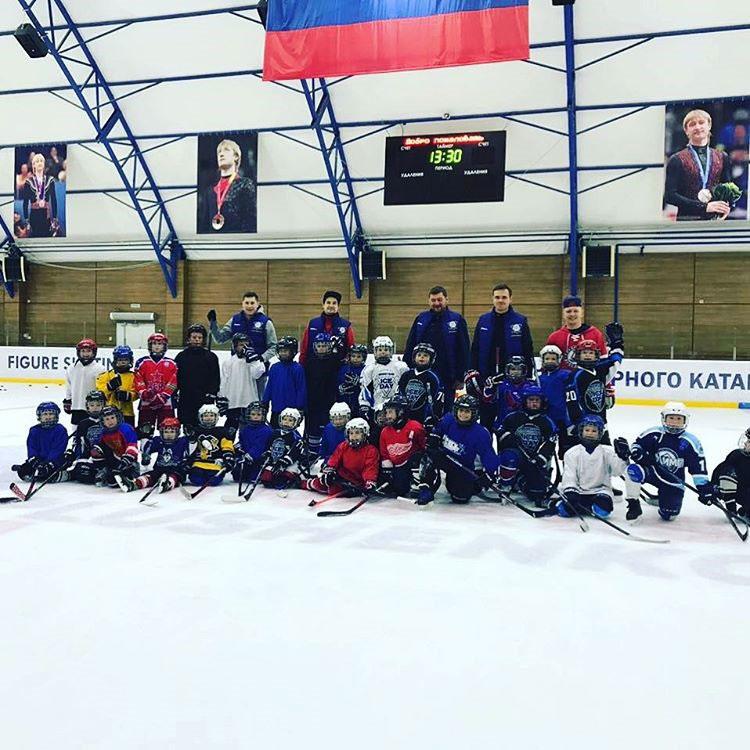 Хоккейный лагерь Москва