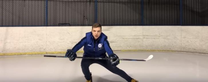 разминка хоккейная школа ice day