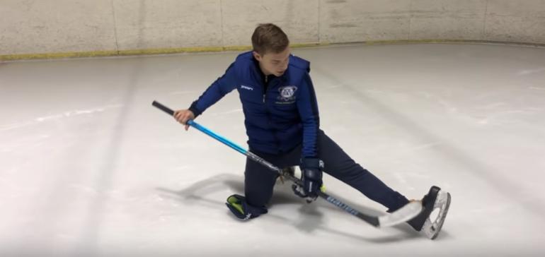 разминка в хоккее