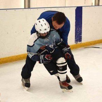 Индивидуальное занятие по хоккею